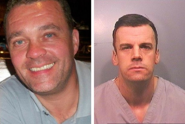 Mark Munday (left) was killed with a single punch by his friend of 14 years, Nigel Williams