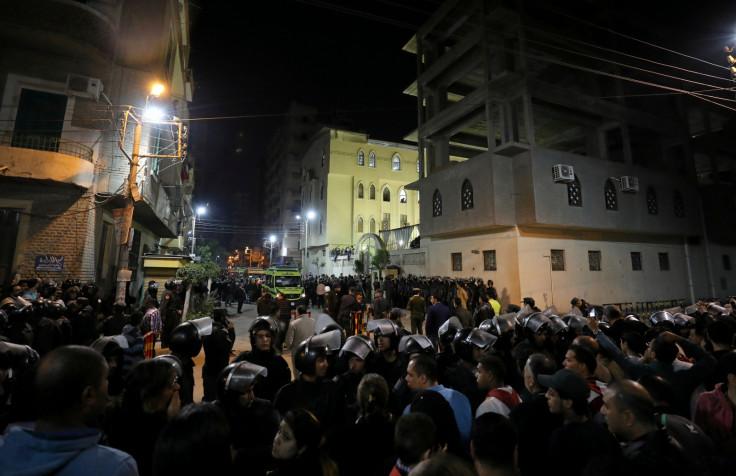 Egypt blasts