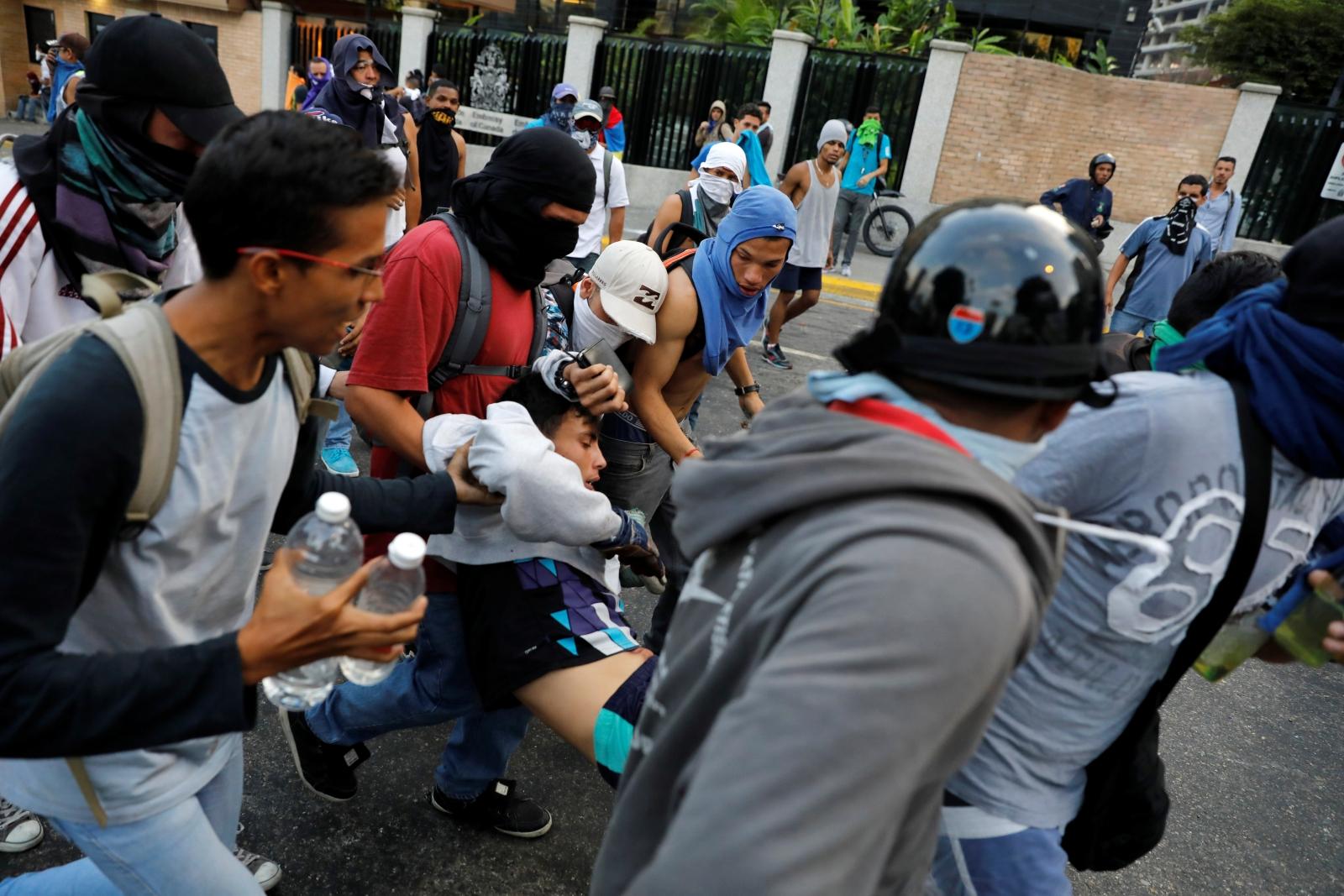 Venezuela anti-Maduro protests