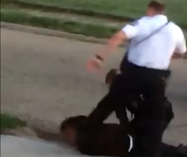 Ohio Police Officer Filmed Stamping On Black Man's Head As