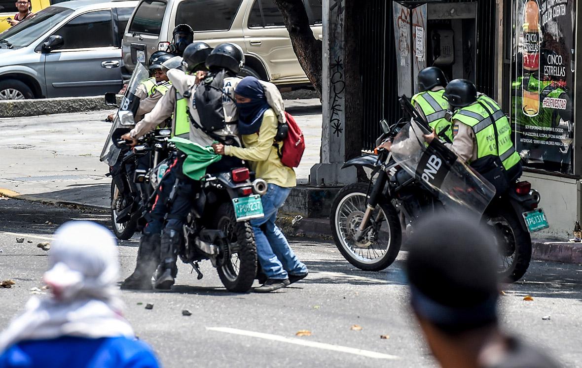 Venezuela protests Maduro