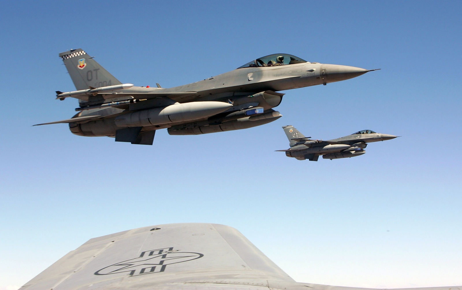 Air Force testing autonomous air-to-ground strikes with unmanned F-16 combat jet