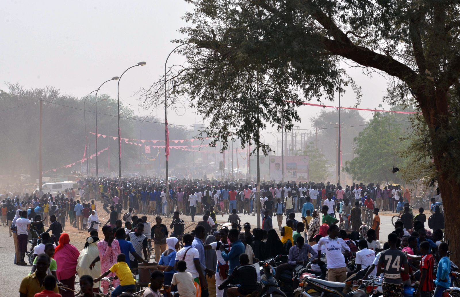 Niger students protests