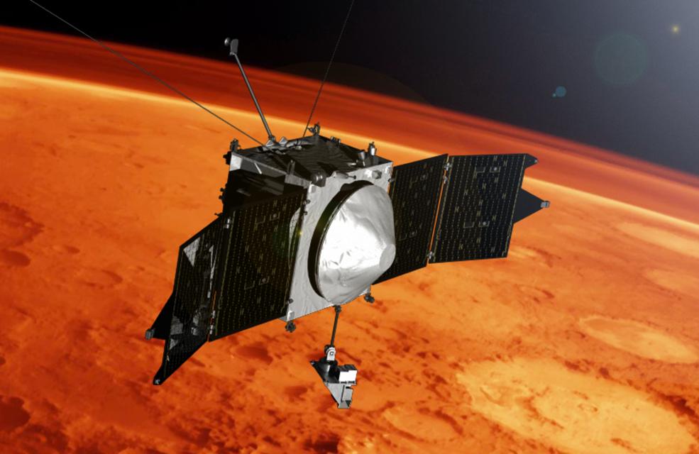 Mars has metal in its atmosphere, reveals NASA probe