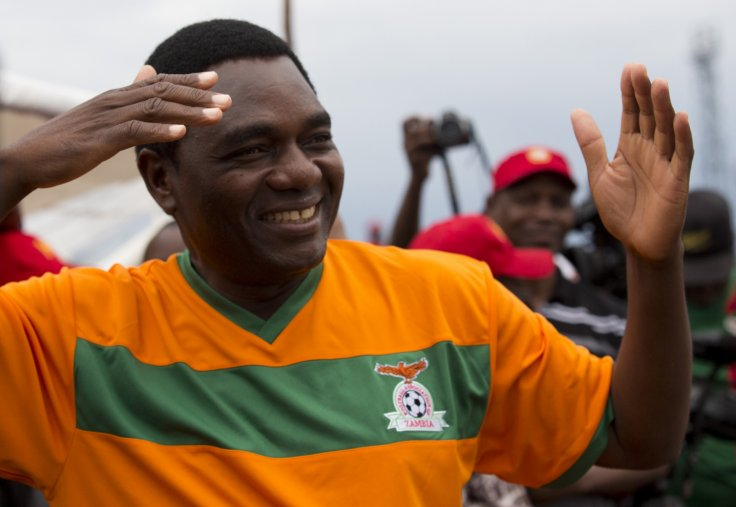 Zambia opposition leader Hakainde Hichilema