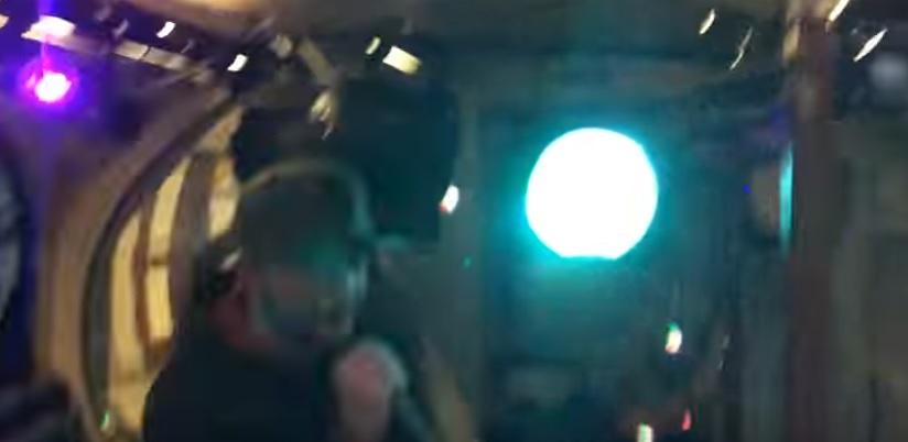 London Underground rave