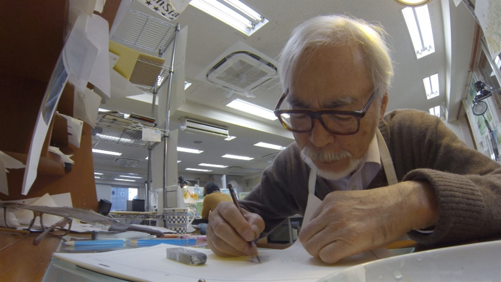 Studio Ghibli founder Hayao Miyazaki