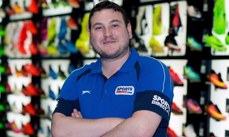 Alex Balacki at Sports Direct
