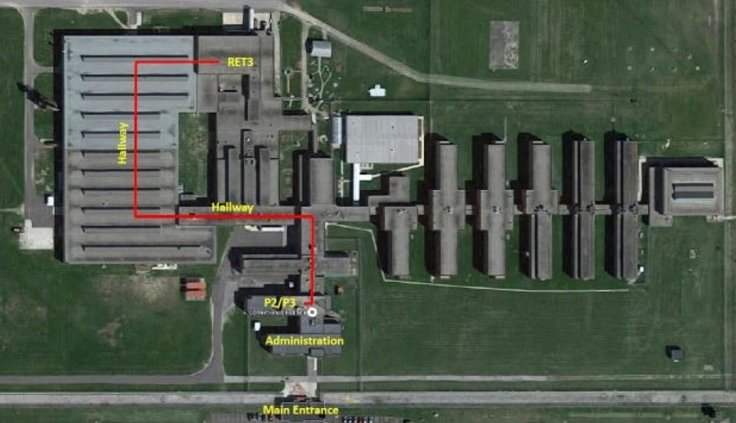 Map of Marion Correctional Institution
