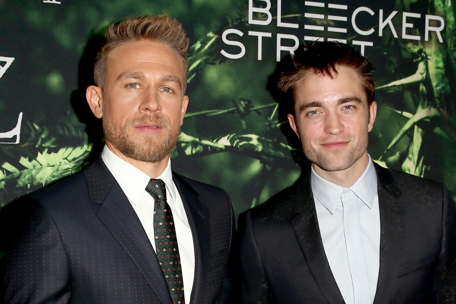 Robert Pattinson and Charlie Hunnam