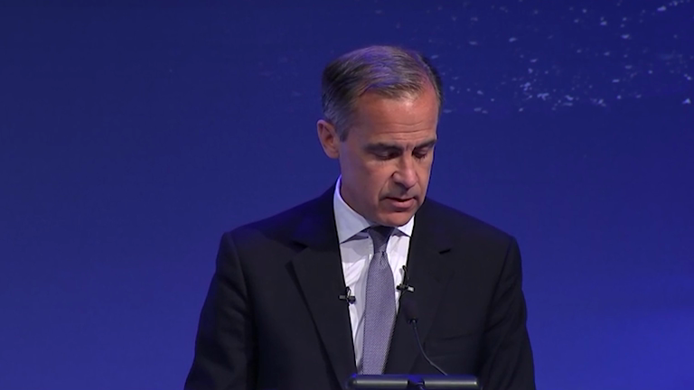 Mark Carney urges businesses to embrace new technology