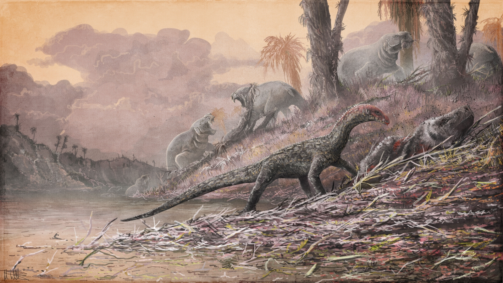 Early dinosaur cousins had crocodile-like features