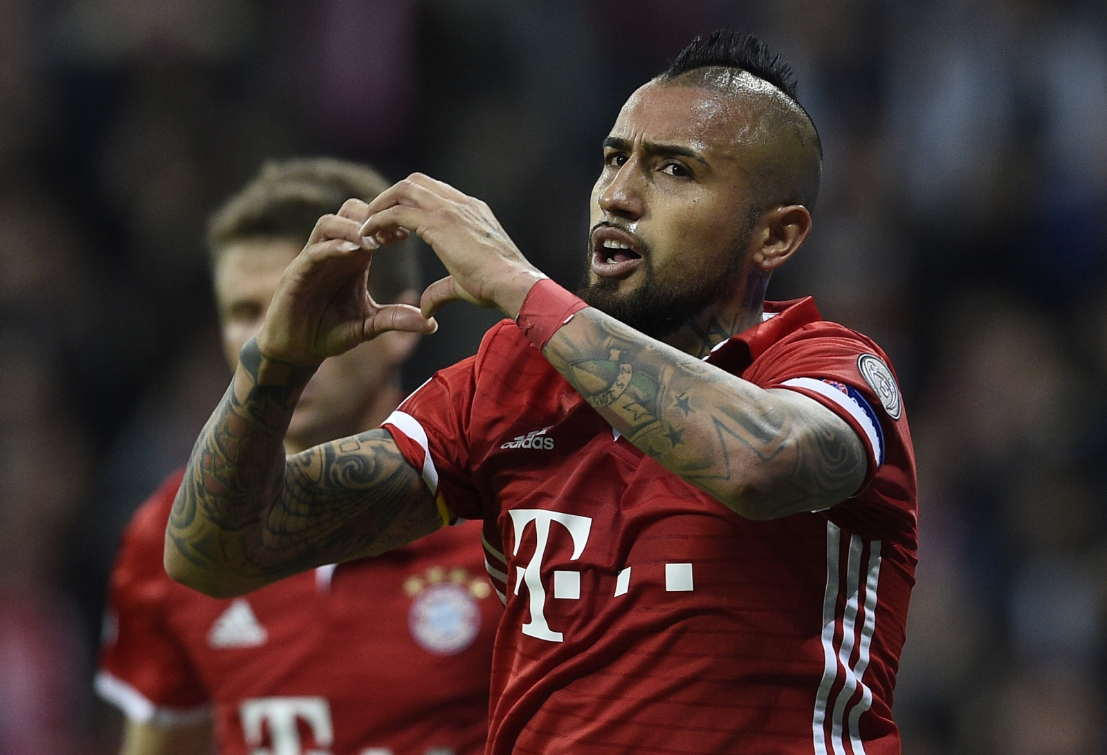 Arturo Vidal: 'I won't leave Bayern Munich in January'