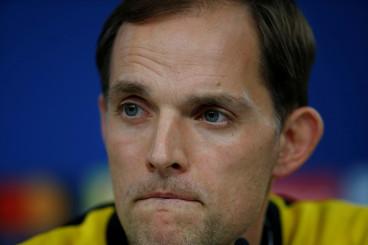 Borussia Dortmund's coach Thomas Tuchel