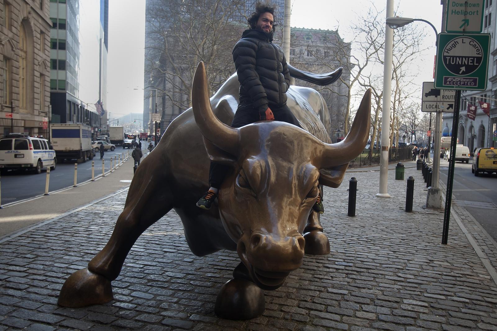 Wall Street's Charging Bull