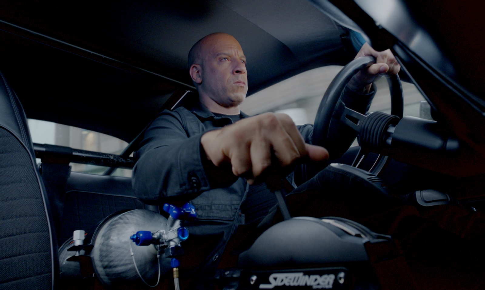 Vin Diesel in Fast and Furious 8