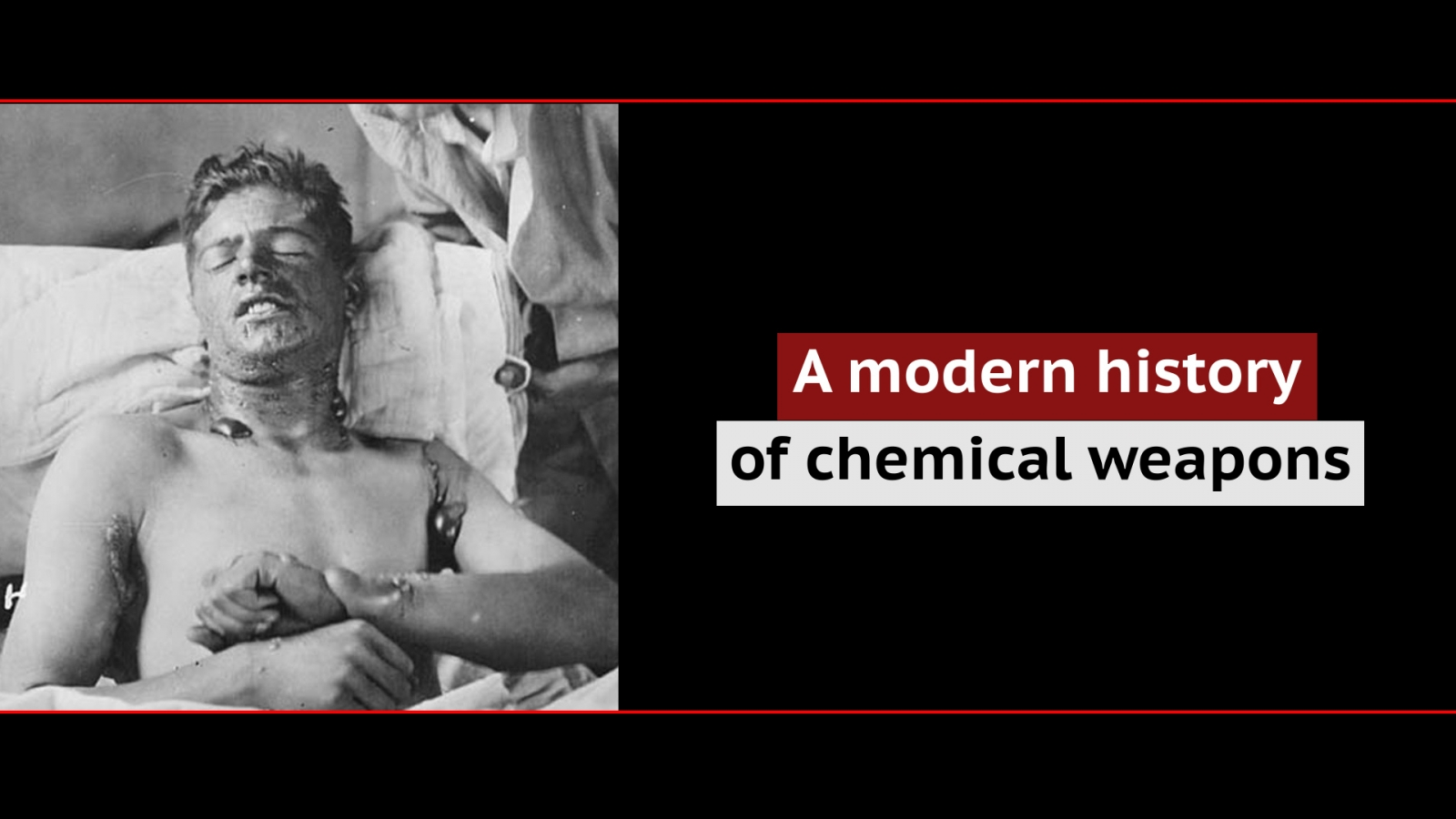 A modern history of chemical weapons