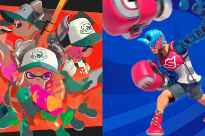 Splatoon 2 Arms