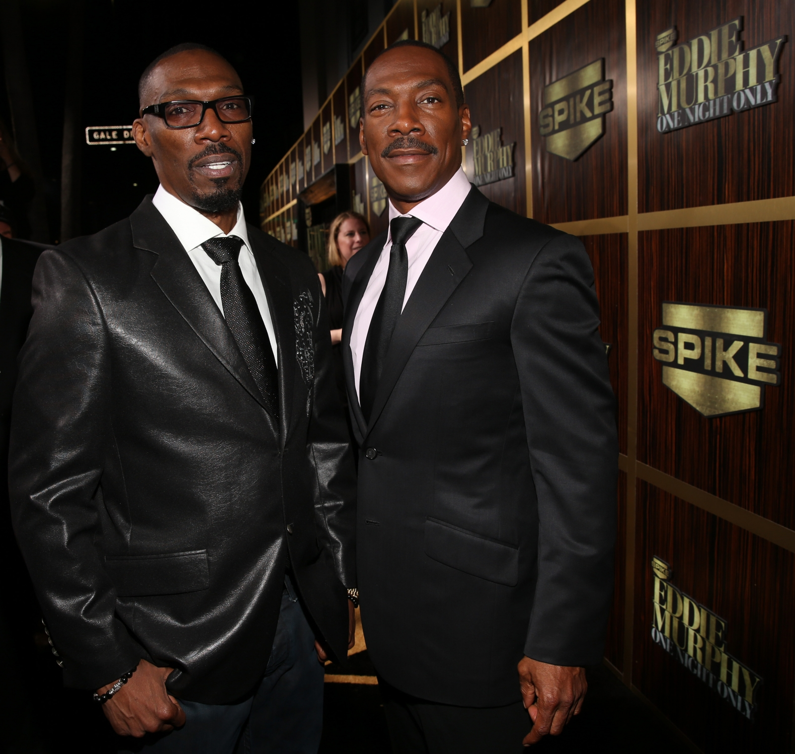 Charlie and Eddie Murphy
