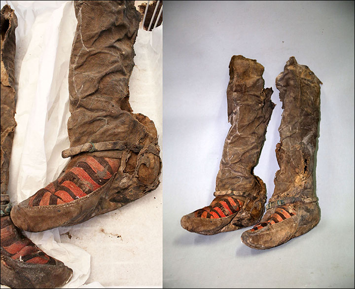 'Adidas' boots
