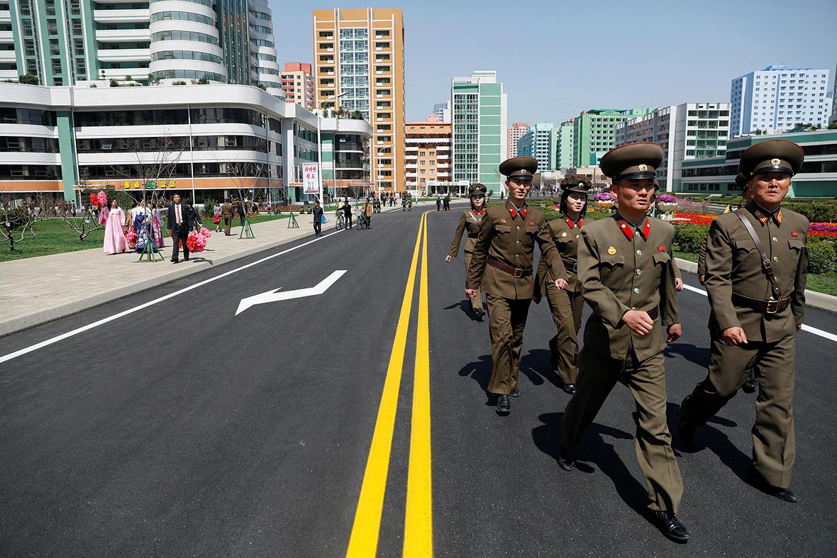Ryomyong street, North Korea