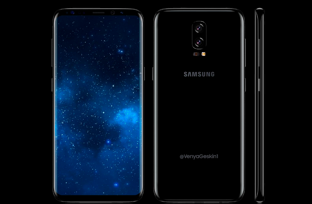 Samsung Galaxy Note 8 concept render