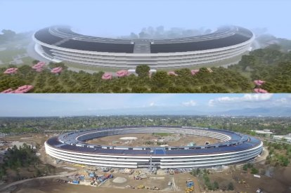 Apple Park on Minecraft