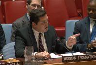 Russian UN ambassador Vladimir Safronkov