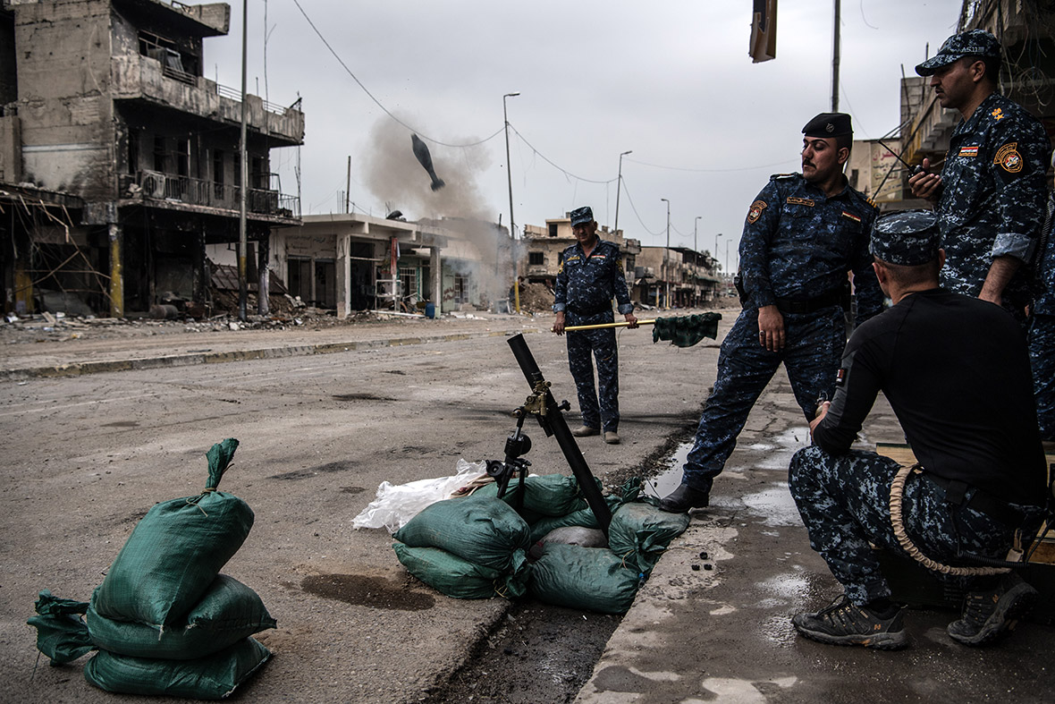 Islamic State launches chlorine gas attacks in western Mosul