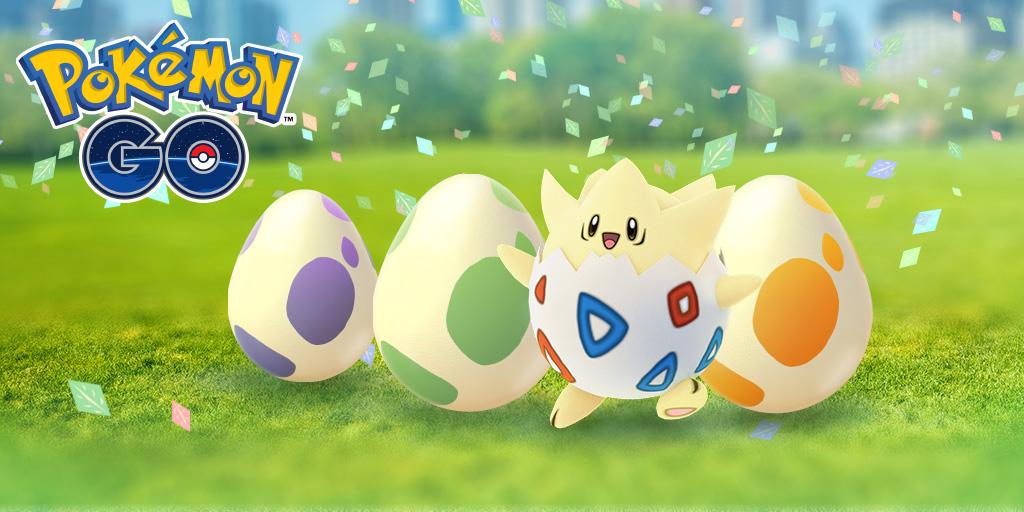 Pokémon Go Eggstravaganza Easter event