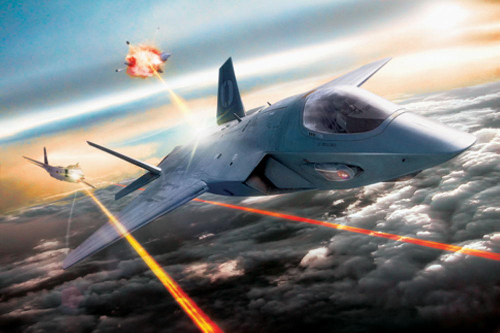 Optical warfare: laser weapons on fighter jets