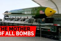 The Massive Destructive Force Of The 'Mother Of All Bombs' Used To Bomb ISIS In Afghanistan