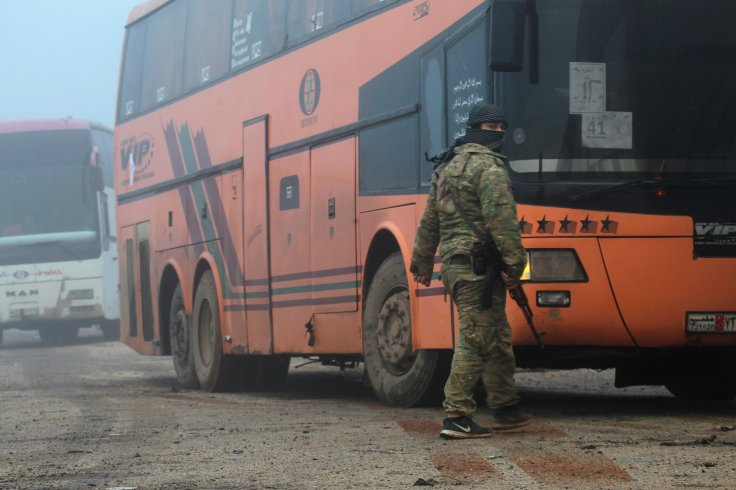 Kefraya and al-Foua buses