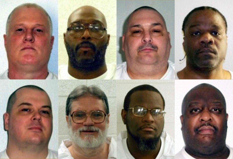 Arkansas is scheduled to execute seven men over a period of 11 days.