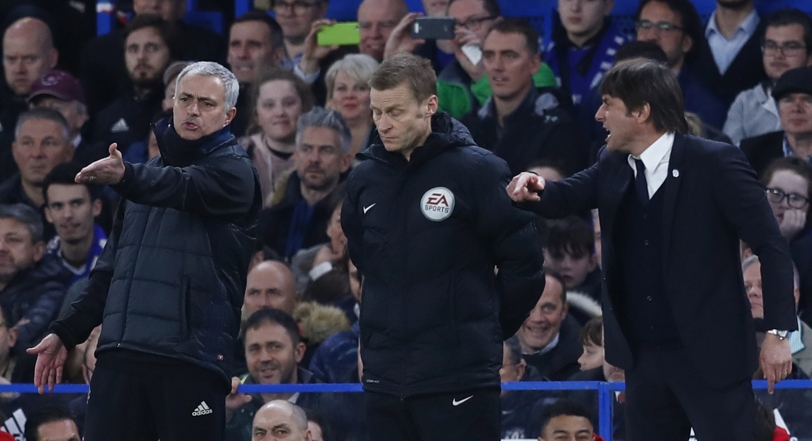 Mourinho and Conte