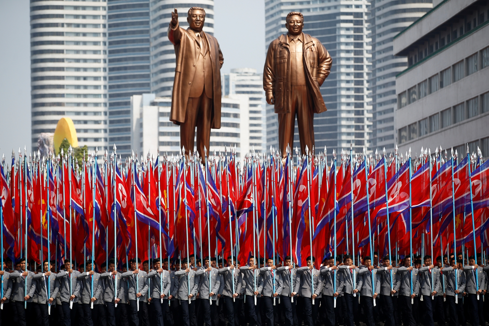 north korea founders day