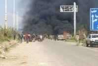 aleppo bus blast