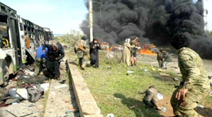 Aleppo bus blast 2