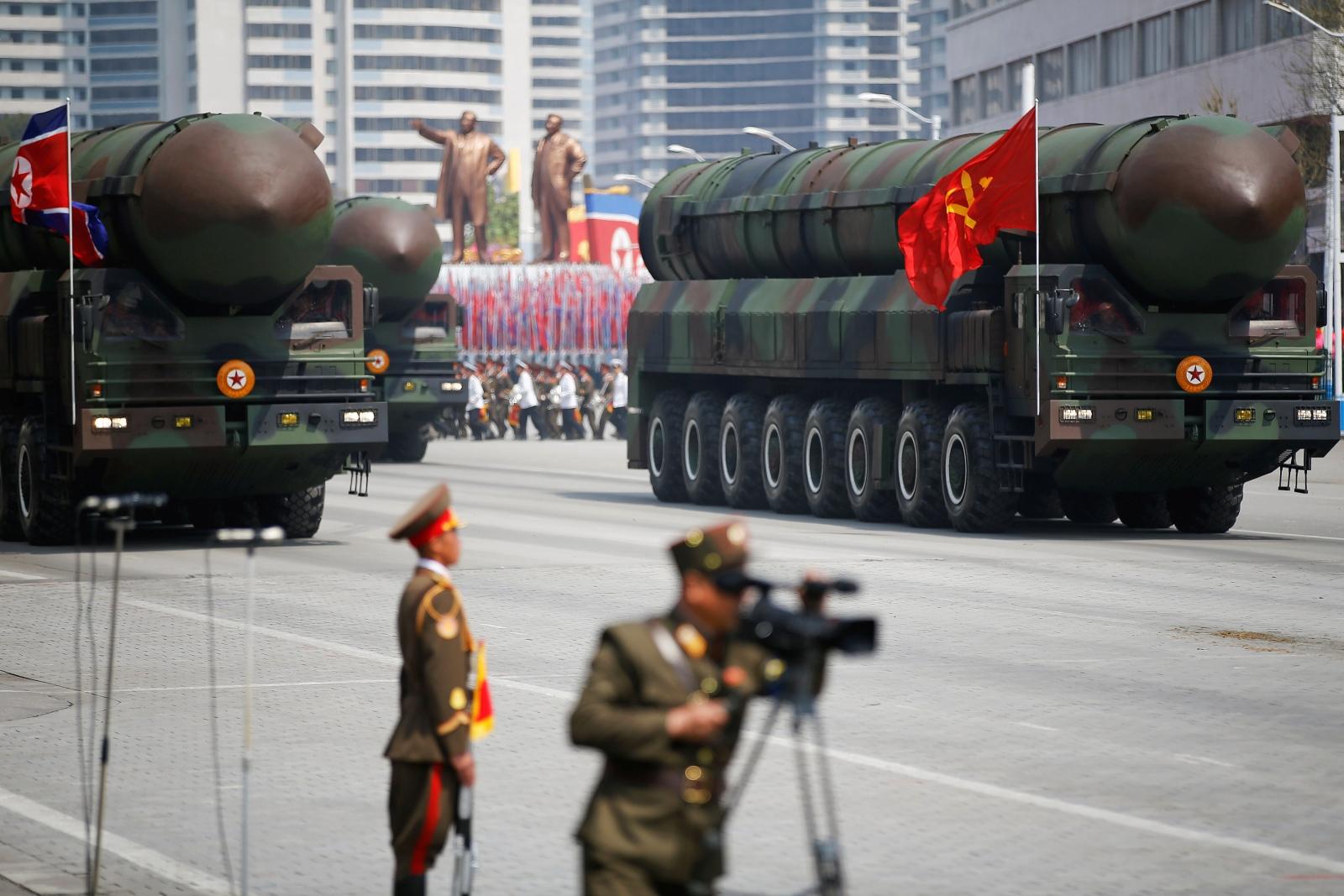 North Korea failed missile launch