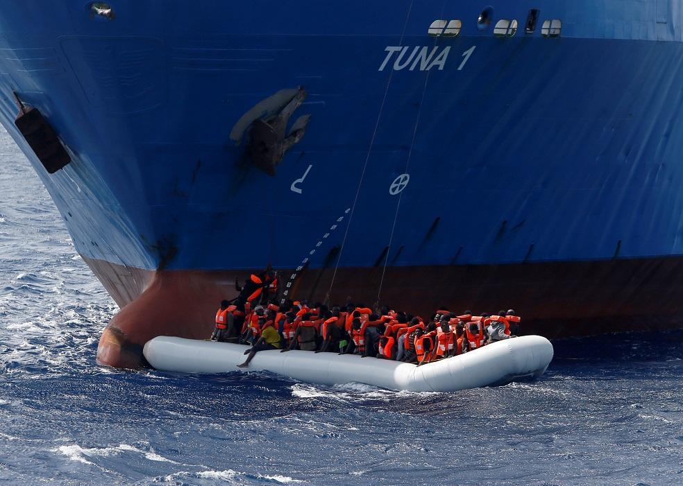 Libya migrant