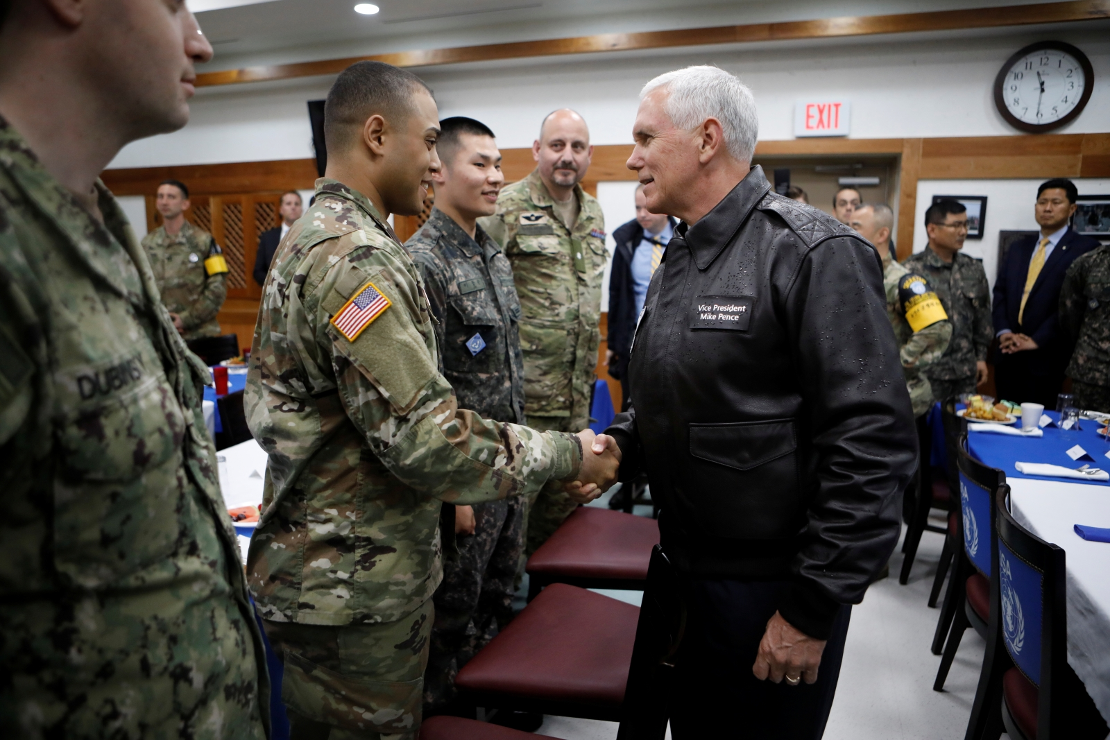 Mike Pence in South Korea