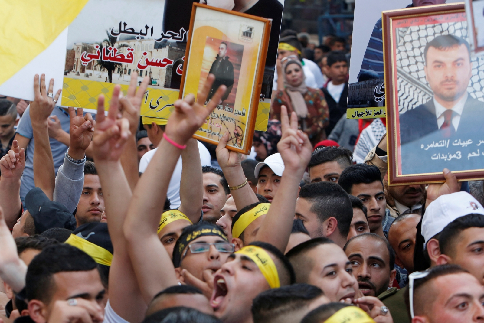 Israel prisoners mass hunger strike