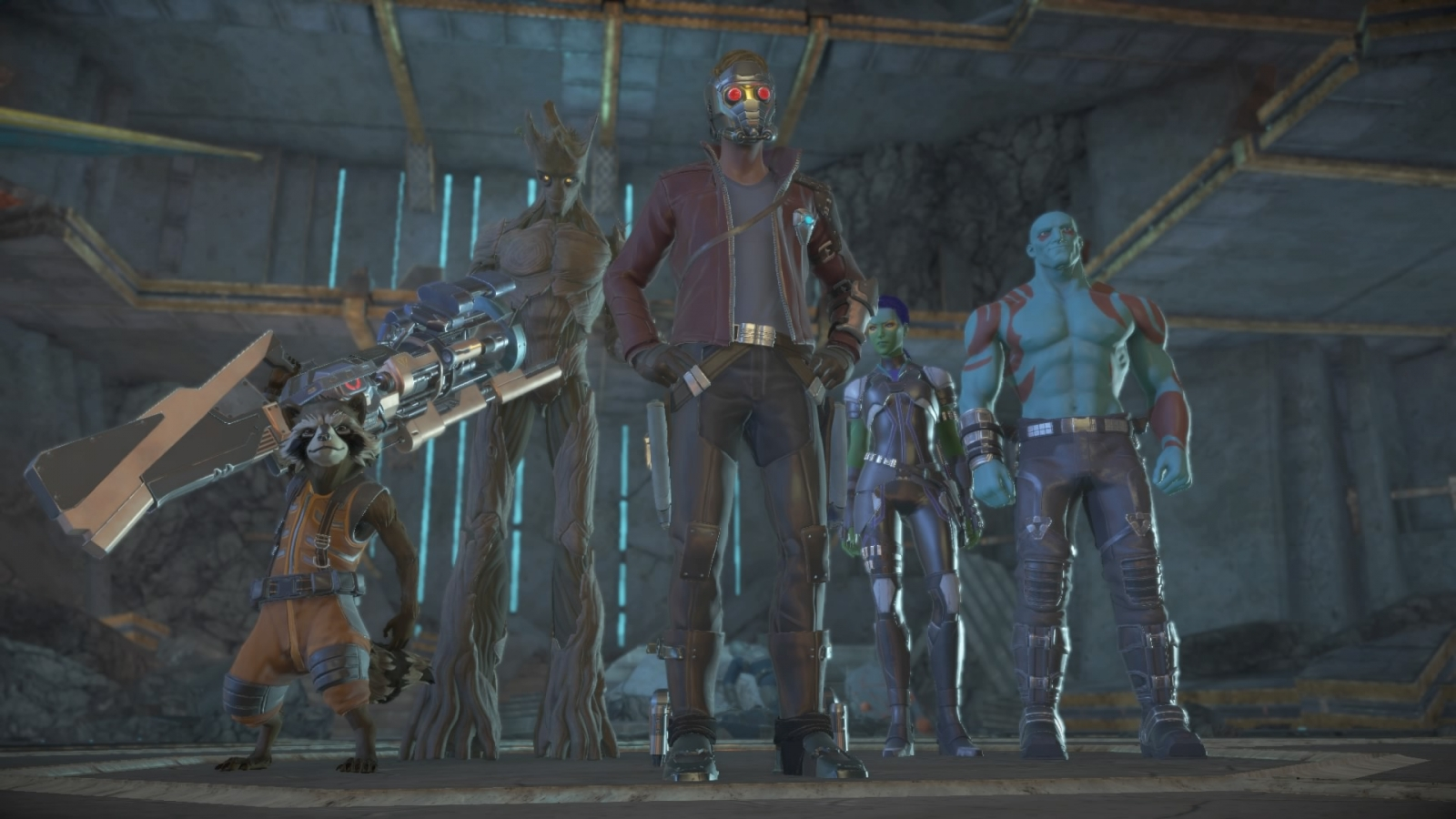 Telltale Guardians of the Galaxy