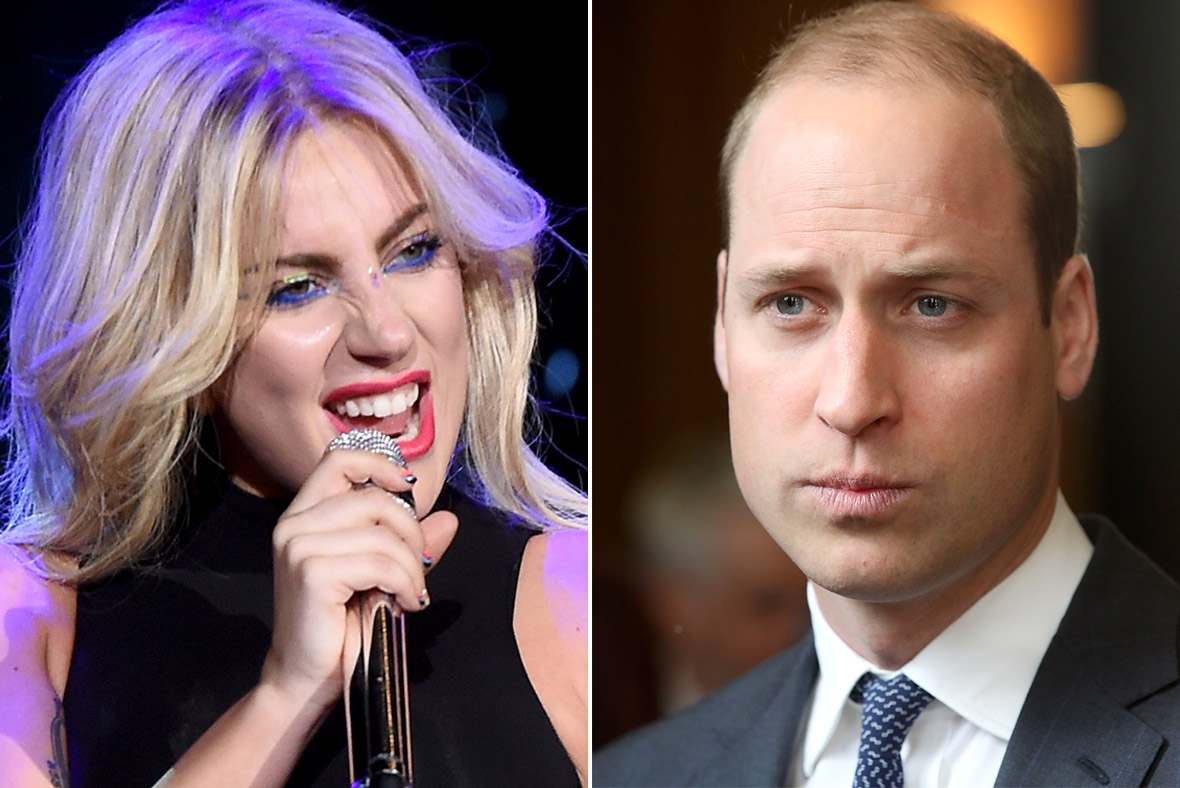 Lady Gaga, Prince William