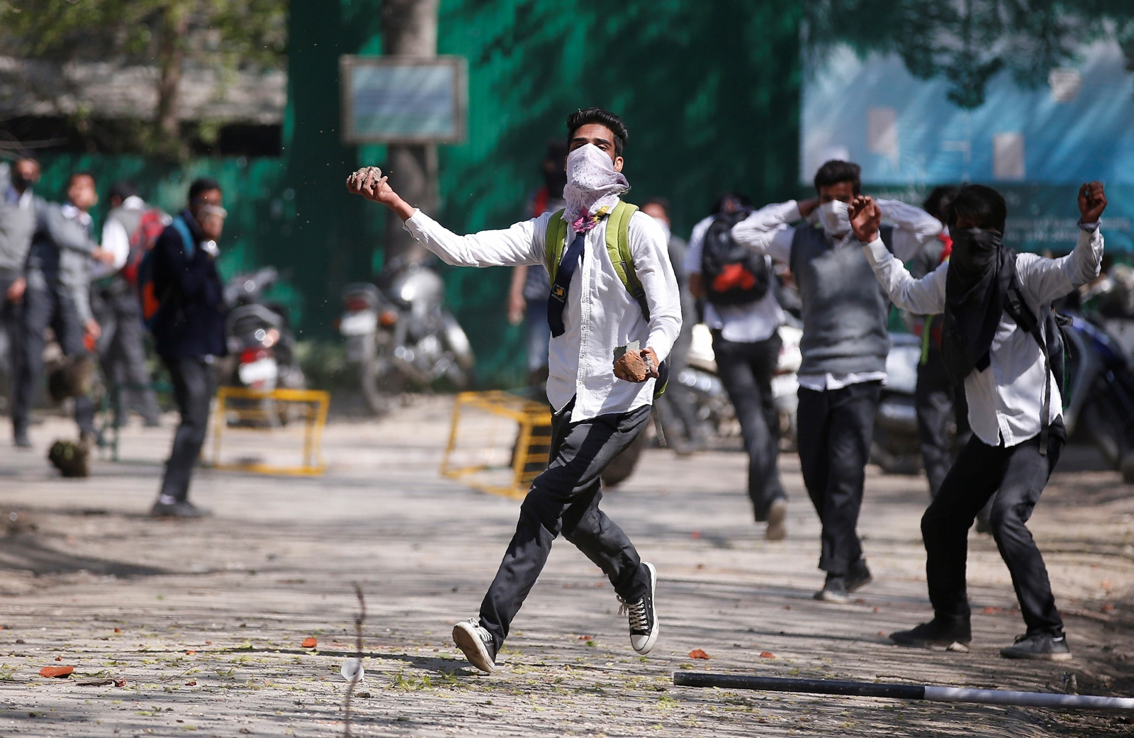India Kashmir unrest