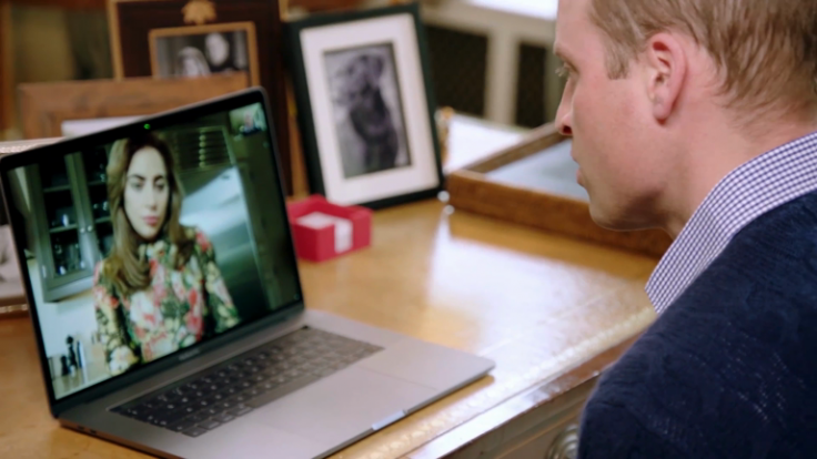 Lady Gaga opens up about her mental health issues with Prince William in FaceTime call