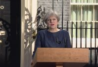 Theresa May Announces General Election on June the 8th