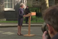 Theresa May Election Announcement Alternative Angle