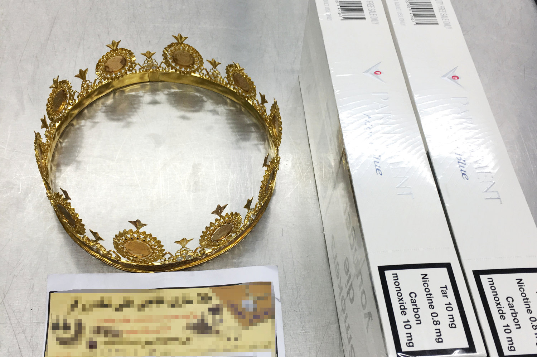 Dusseldorf crown smuggling