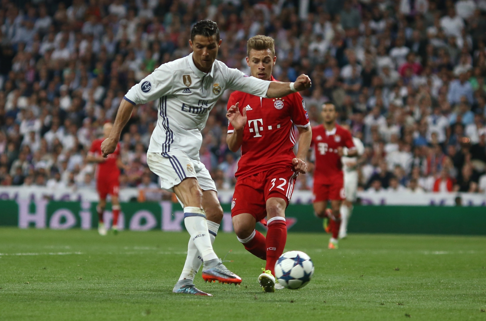 Real Madrid beat Bayern Munich to enter Champions League semis